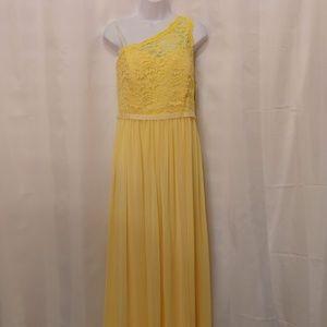 NWTDavid's Bridal Off Shoulder Evening Dress Size